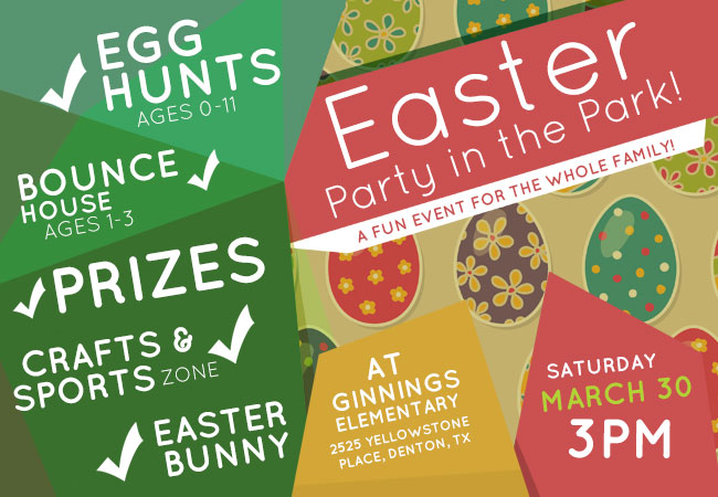 Easter Egg Hunt Denton Texas