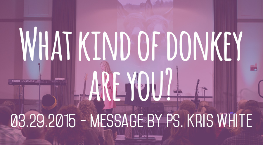 03.22.2015 - Message by Ps. Kris White - The Bridge Church in Denton, TX